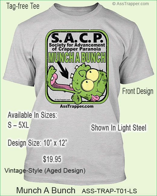Zombie Tee Ass Trapper