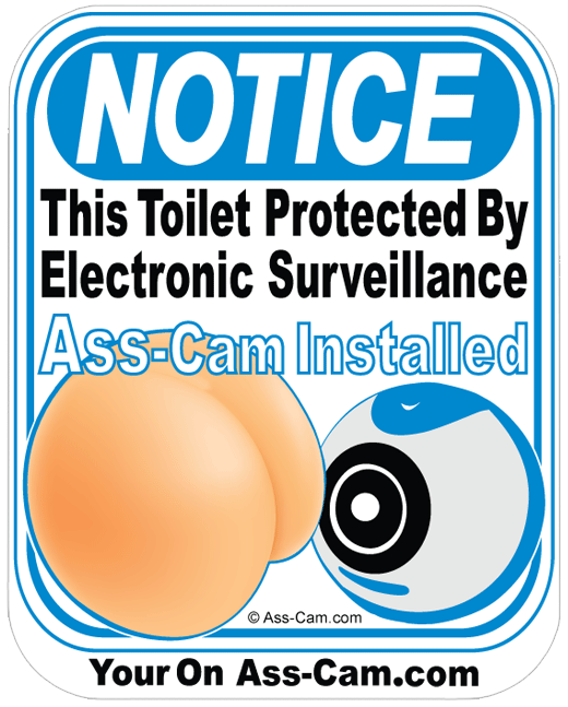 Notice Ass-cam