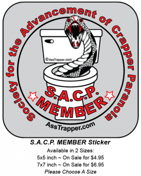 Sticker SACP Member
