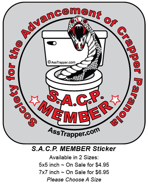 Sticker SACP Member